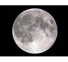 Full Moon Over Oklahoma Photographic Print