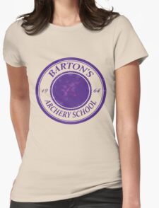 The Barton School of Archery Womens Fitted T-Shirt