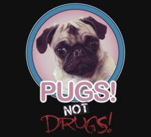 Pugs not Drugs! One Piece - Long Sleeve
