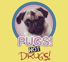 Pugs not Drugs! Kids Tee