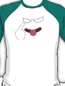 Funny Anime Face T-Shirt