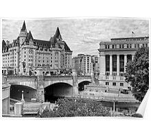 Ottawa Downtown - Ottawa, Ontario Poster