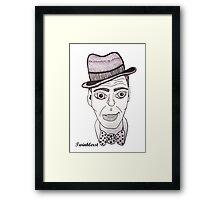 Frank Sinatra - 2012 Framed Print