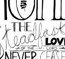 Steadfast Love Sticker