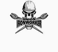 Union Ironworker: Skull and Spuds Unisex T-Shirt