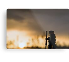 Sunset Hike Metal Print
