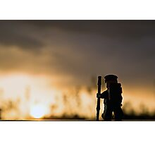 Sunset Hike Photographic Print