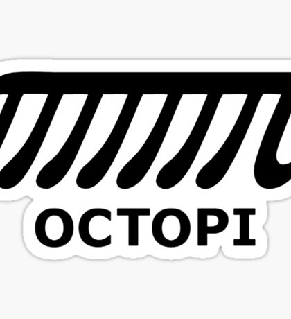 Maths - Octopi Sticker
