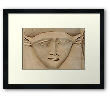 the face of Hathor Framed Print