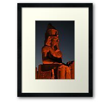 Ramses II Framed Print