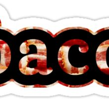 Bacon - Hashtag - Photograph Sticker