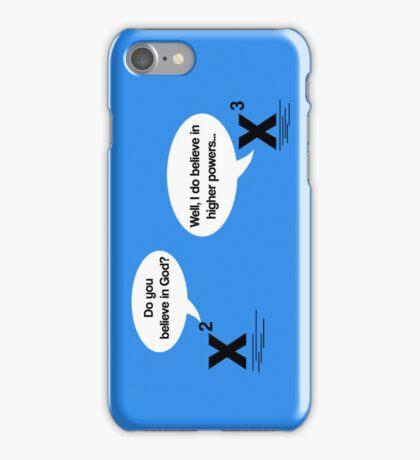 Maths - Do you believe in God? iPhone Case/Skin
