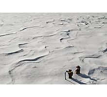 Winter Hike Photographic Print