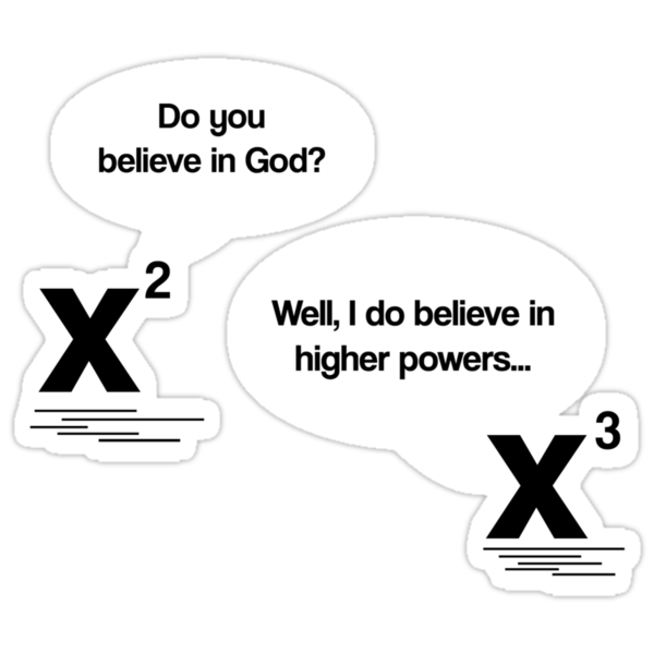 Maths - Do you believe in God? by gemzi-ox