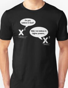 Maths - Do you believe in God? T-Shirt