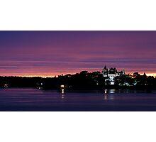 A Boldt Castle Evening Photographic Print