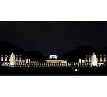 The Mall in DC Photographic Print