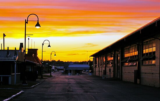 Twilight at the Fairgrounds by Dan Phelps