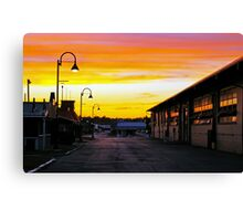 Twilight at the Fairgrounds Canvas Print