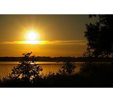 Onondaga Lake Sunset Photographic Print