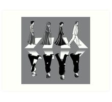 Downton Abbey Road Art Print