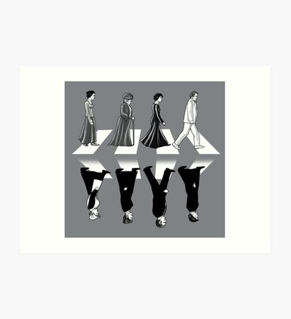 Downton Abbey Road Art Print