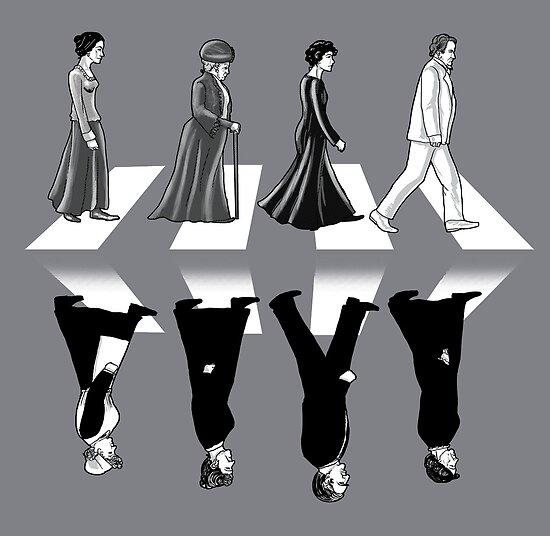 Downton Abbey Road by qetza