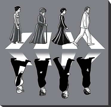 Downton Abbey Road by qetza