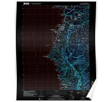 USGS TOPO Map Guam Agat 462356 2000 24000 Inverted Poster