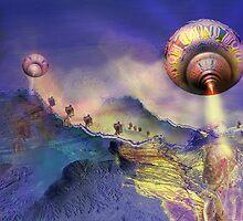 Valley of Indecision, Pop Surrealism, Alma Lee by Alma Lee