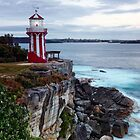 First Light ~ Hornby Lighthouse by Lorraine Creagh