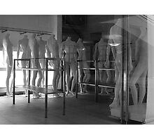 Standing Nudes B&W Photographic Print