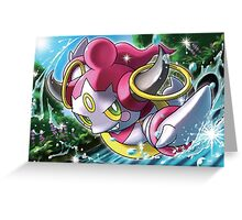 Hoopa in the Water Greeting Card