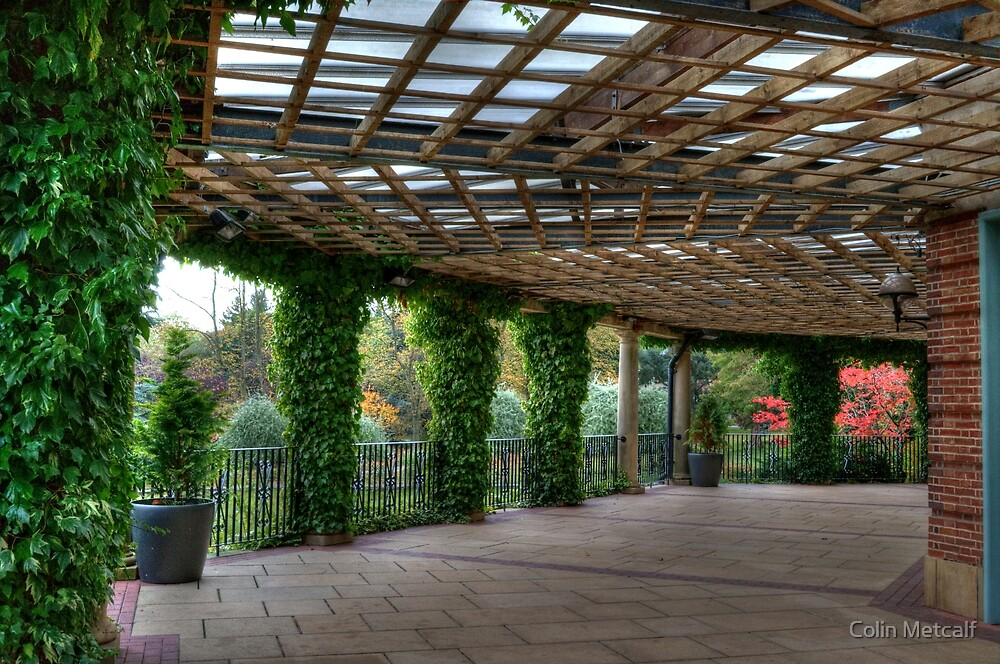 The Sun Pavilion Colonnade by Colin Metcalf