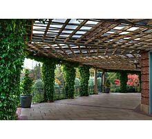 The Sun Pavilion Colonnade Photographic Print