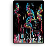 DNA Message Canvas Print