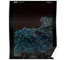 USGS TOPO Map Guam Hagatna 462392 2000 24000 Inverted Poster