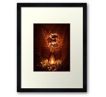 Coming To Life Framed Print