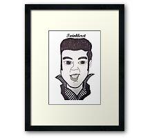 Elvis Presley - 2012 Framed Print
