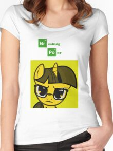 Breaking Pony Women's Fitted Scoop T-Shirt