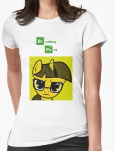 Breaking Pony Womens Fitted T-Shirt