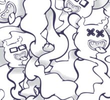 G-G-GHOSTS! Sticker