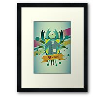 love school Framed Print