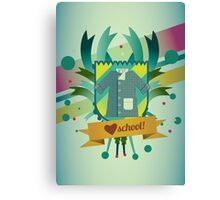 love school Canvas Print