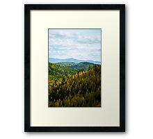 On the road to Republic WA Framed Print