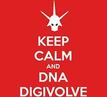Keep Calm and DNA Digivolve V2 Unisex T-Shirt