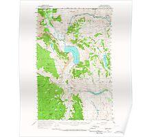 USGS Topo Map Washington State WA Loomis 242060 1956 62500 Poster