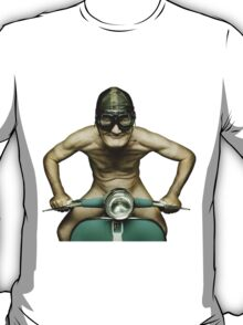 Scooter Man Shirt 2 T-Shirt