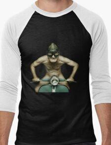 Scooter Man Shirt 2 Men's Baseball ¾ T-Shirt