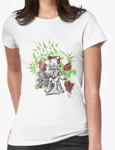 Lil' Sluggerbot Womens Fitted T-Shirt